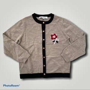 Brooks Brothers wool Cardigan M 7-8